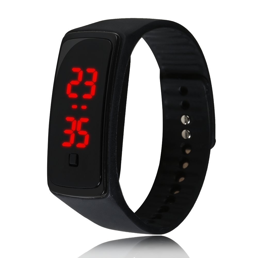 Qoo10Fashion Touch Screen LED Bracelet Digital Watches for Men  Ladies  Child Clock Womens Wrist Watch Sports Wristwatches