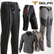 Mens Cool Fabric Belted Formal Sports Pants / Outdoor Hiking Walking Climbing