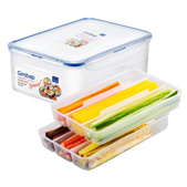 LOCK&LOCK Gimbap Ingredients Container 2.6L With Tray HPL826T