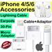IPhone 4/5/6/6S/7/SE Accessories Lightning Cable 4/4S 30 Pin Cable Adaptor Earpod Ipad2/3/4/Air/Mini2/Mini3