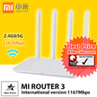 Xiaomi Mi WiFi Router 3 White International Version [ Ready Stocks ] SG Seller. Immediate Collection