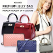 【FREE QXPRESS】【AUTHENTIC QUALITY】 Korean Inspired Limited Edition etc. Jelly Bag COM.