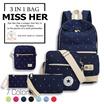 Buy 2 FREE QXPRESS【2017 NEW ARRIVAL】★Unisex Korean Version Shoulder bag Backpack School Bag Men bag