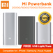 100% Authentic★Xiaomi Mi Power Bank 20000mAh 16000mAh 10000mAh 5000mAh PowerBank★ Compatible for | iPhone | Samsung |Asus| Huawei | Tablets| Xiaomi Silicone Case[ FREE USB Light/Fans ]★[Local Seller]