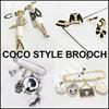 ★ローレンコLAURENCO★★Luxury elegant style★Brooch_Camellia / coco new style Brooch~!