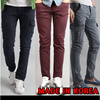 ★ Made in Korea ★ Men Pants Casual Cargo Pant Slacks Jogger Slim fit Skinny Trousers cool cotton  Denim blue Jeans straight baggy  bermuda shorts dress sports summer 3/4 clothing