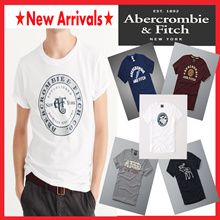 [Abercrombie n Fitch] 2017NEW ARRIVALS★ forMEN★100% genuine★Free Shipping★HOT SALE ★ Short Sleeve