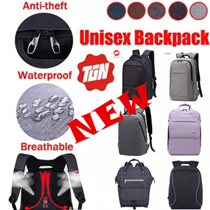 BUY ONE GET ONE FREE★Unique High Quality Waterproof Nylon 17/15.6 Inch Laptop Backpac Men Women