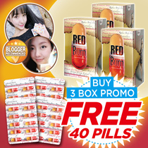 $30 Qoo10 CoupoN!CRAZY 3 BOXES SPECIAL DEAL【Regain your perfect waist today!!】★RED Burn 3 MONTHS