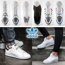 [ADIDAS] ★FLAT PRICE★NEW ARRIVALS★2017 SUPERSTAR New model add★★100% AUTHENTIC adidas★Lowest Price★STANSMITH★SUPERSTAR★