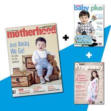 [7-13 Dec Only!]   Motherhood Magazine + Baby Plus + Healthy Pregnancy