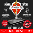 Nanotech Tempered Glass Screen Protector/iPhone 7/7 Plus/6/5/Samsung Galaxy Note 5/4/S7edge/Redmi