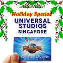 [Holiday Special]Universal Studio Singapore Ticket USS One day Pass  新加坡环球影城 / Christmas Celebration.Best Price Guaranteed! / RESORTS WORLD SENTOSA