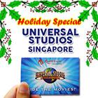 [Holiday Special]Universal Studio Singapore Ticket USS One day Pass  新加坡环球影城 / Christmas Celebration.Best Price Guaranteed! / RESORTS WORLD SENTOSA