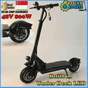 ★Local Seller ★Dualtron2 DT II S Motor 18.2Ah 60V / Dual sonic 10inch Electric Scooter 52V/48V