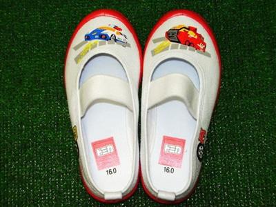 (A倉庫)上靴 トミカ TM10412 スクールシューズ 上履き キャラクター キッズ 上靴 バレーシューズの画像