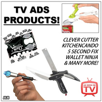 ◣BEST XMAS GIFTS◥ ★TV ADVERTISEMENTS ★ENGRAVE IT ★CLEVER CUTTER ★5 Second Fix ★UV Light Multipurpose Repair Tool ★KITCHEN CANDO 8-WAY CAN OPENER ★Liquid Plastic Weld Pen ★Super Repair Pen ★ [JIJI]