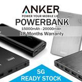 [CRAZY SALES] ANKER POWERBANK (15000mAh - 20000 mAh) | AMAZON TOP BRAND | 18 MONTHS WARRANTY