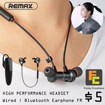 CHEAPEST ONLINE! ORIGINAL REMAX IN- EAR EARPIECE EARPHONE HEADSET BLUETOOTH SPORTS