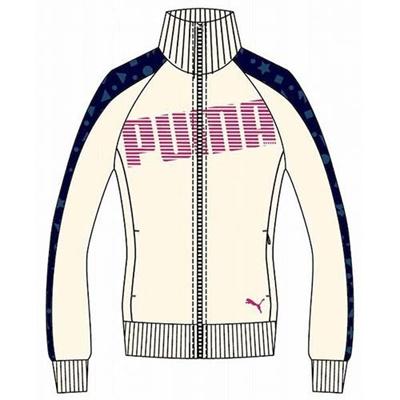 プーマ(PUMA) トレーニングジャケット 903667 02 ウィスパー ホワイト 【レディース トレーニングウェア ランニング ジャージ】の画像