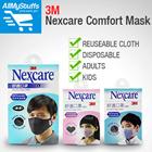 3M Nexcare Comfort Masks Reuseable Cloth 8550/ Disposable 8660 ★ Kids/Adult ★