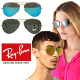 Celebration of Qoo10 Day Big Sale 10/10-14/10 Ray-Ban ♥♥95%Buyers Satisfaction♥♥ Aviator Mirror Sunglasses RB3025 RB3026//Free Delivery//Polarized//UV protection//Metal// Life Style//Fashion goods//Br