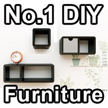 CUBICS MINI Furniture table wallpaper sticker home DIY FURNITURE DECORATION home living