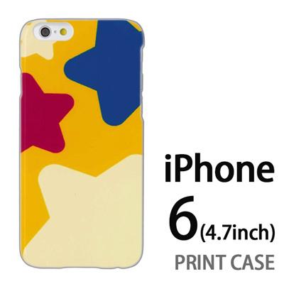 iPhone6 (4.7インチ) 用『0622 でっかい☆』特殊印刷ケース【 iphone6 iphone アイフォン アイフォン6 au docomo softbank Apple ケース プリント カバー スマホケース スマホカバー 】の画像