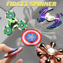 GSS CLEARANCE SALE !! 2017 New Tri-Spinner Fidget Toy Plastic EDC Hand Spinner ★Relive Stress Toy★