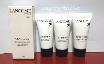 lancome genifique concentrate activateur how to use