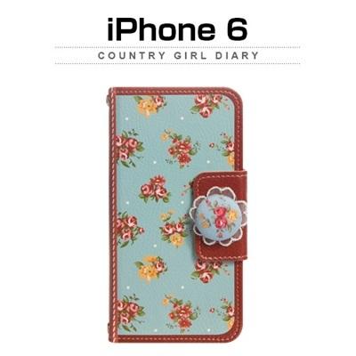 【iPhone/GALAXY/GALAXY Note/LG G2ケース】Mr.h Memory of the old Nosegay Country girl(ノーズゲイカントリーガール)オリジナル ハンドメイド ダイアリー【レビューを書いてネコポス送料無料】の画像