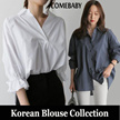 【update On Sep 23th 】2017 Korea New Style Blouse Dress Long Blouse Short Blouse S-5XL