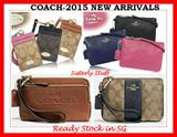 READY STOCK IN SG-COACH LARNYARD SMALL AND MEDIUM WRISTLETS COLLECTION-LATEST DESIGNS-100% AUTHENTIC-NEW ITEMS ADDED
