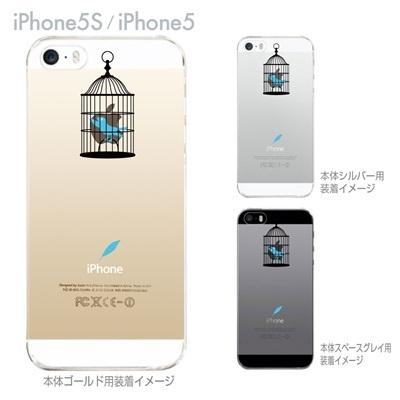 【iPhone5S】【iPhone5】【Clear Arts】【iPhone5ケース】【カバー】【スマホケース】【クリアケース】【鳥かご】 08-ip5-ca0079の画像