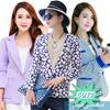 【LOVE*FAMILY】 スペシャルセール❤レディース 小さなスーツ❤女のコート❤スリム 修身 蓮の葉カラー❤韓国 Style 最低価格 WWT1601