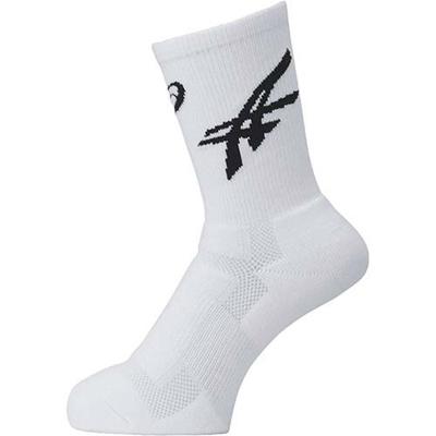 アシックス(asics)ソックス25XBS413WH×BK【バスケットボールアクセサリー靴下】