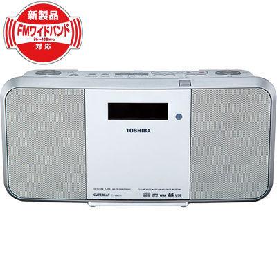 東芝CDもラジオもSD/USBへ録音SD/USB/CDラジオ(ホワイト)TY-CRX71-W