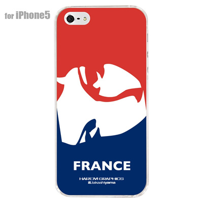 【iPhone5S】【iPhone5】【HAREM graphics】【iPhone5ケース】【カバー】【スマホケース】【クリアケース】 HGX-IP5C-015Fの画像