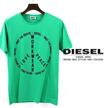 今だけ送料無料 ディーゼル DIESEL Tシャツ メンズ 半袖 ロゴ プリント T-FRITZ-R