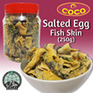 [Coco International] Salted Egg Fish Skin Snack (250gm) Halal Certified