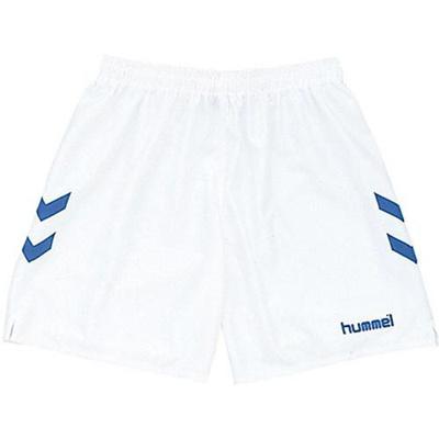 hummel(ヒュンメル)ゲームパンツHAG5004163/ホワイト×ロイヤルブルー【サッカーウェアプラクティスパンツ】【ハンドボール】【GAPRP】