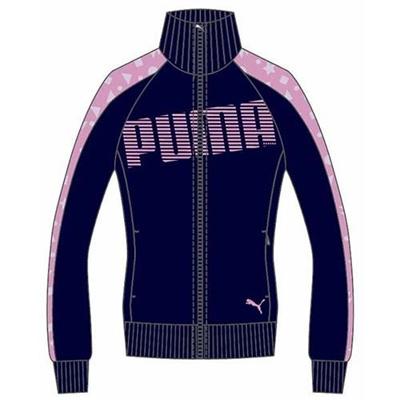 プーマ(PUMA) トレーニングジャケット 903667 04 ピーコート 【レディース トレーニングウェア ランニング ジャージ】の画像