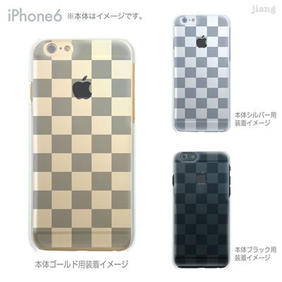 iPhone6 4.7 inch iphone ハードケース Clear Arts ケース カバー スマホケース クリアケース かわいい おしゃれ 着せ替え イラスト ボックス 06-ip6-ca0021aの画像