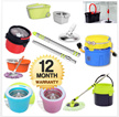 [Mop Series] Magic Spin Mop ** Spray Mop** Perfect Mothers Helper ** with 2 mop refills of mop set purchase**