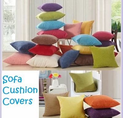 Qoo10 sofa cushion cover sofa pillow removable for Couches with removable and washable cushions