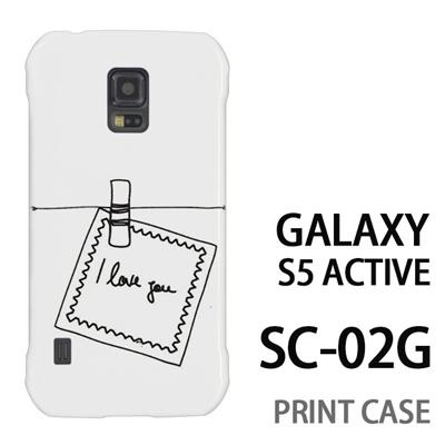 GALAXY S5 Active SC-02G 用『0828 白 メモ』特殊印刷ケース【 galaxy s5 active SC-02G sc02g SC02G galaxys5 ギャラクシー ギャラクシーs5 アクティブ docomo ケース プリント カバー スマホケース スマホカバー】の画像
