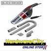 [FREE DELIVERY] Black and Decker 12V Auto Car Vacuum Dustbuster w/ Full Accessories