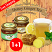 [LOWEST PRICE ON QOO10] 580g+580g Korea Honey Citron Tea 580g / Honey Ginger Tea 580g - Natural and Healthy and Delicious!