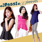 Koleksi atasan wanita modis best quality - blouse top and shirt - best vintage top - import quality