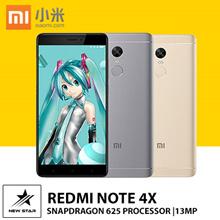 [*New 2017*] Flagship Redmi Note 4X Snapdragon625 2.5D 5.5inch 3GB/4GB+32GB/64GB Dual SIM GPS 4G